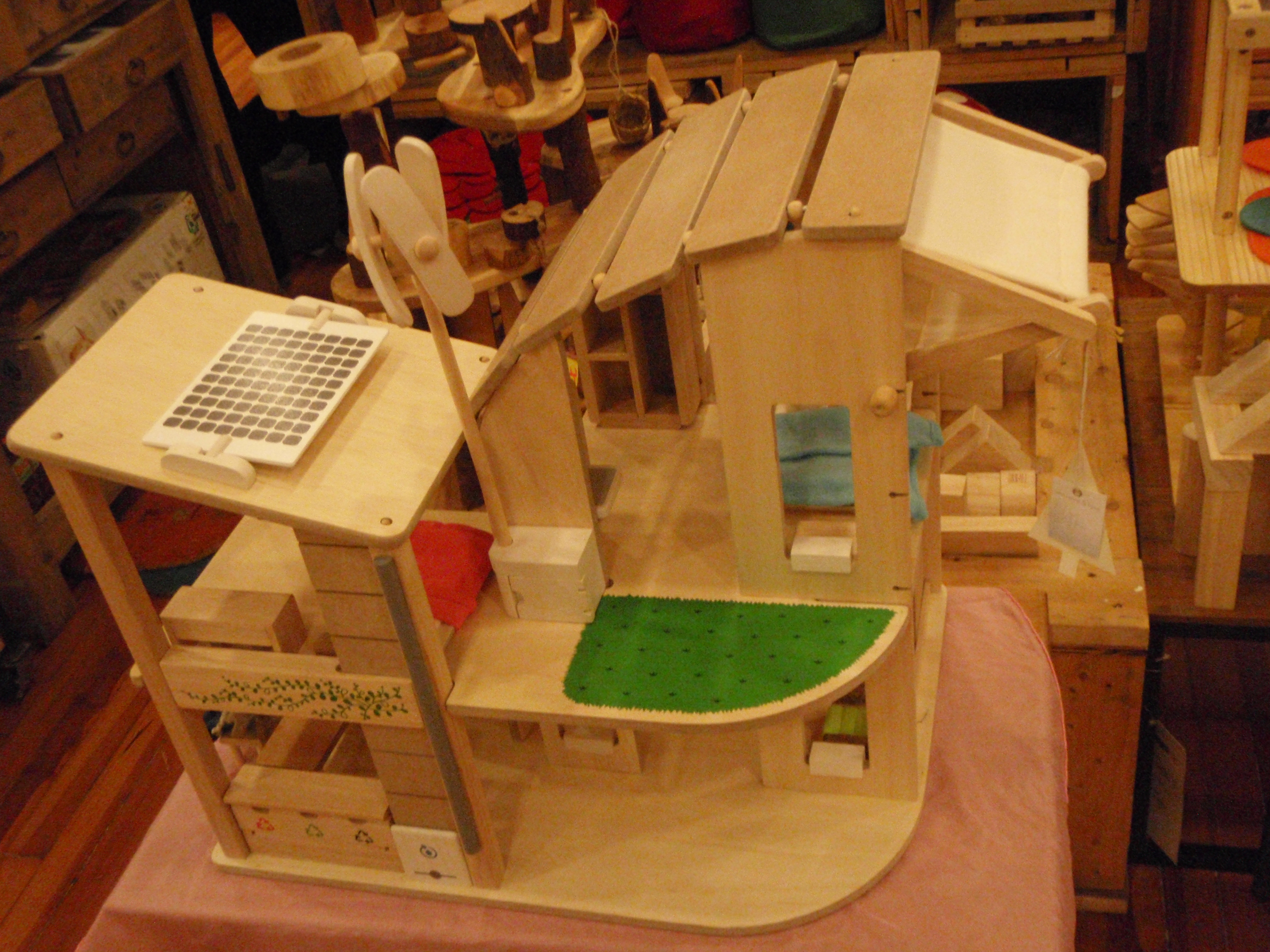 Sustainable Housing Design sustainable doll house | city love