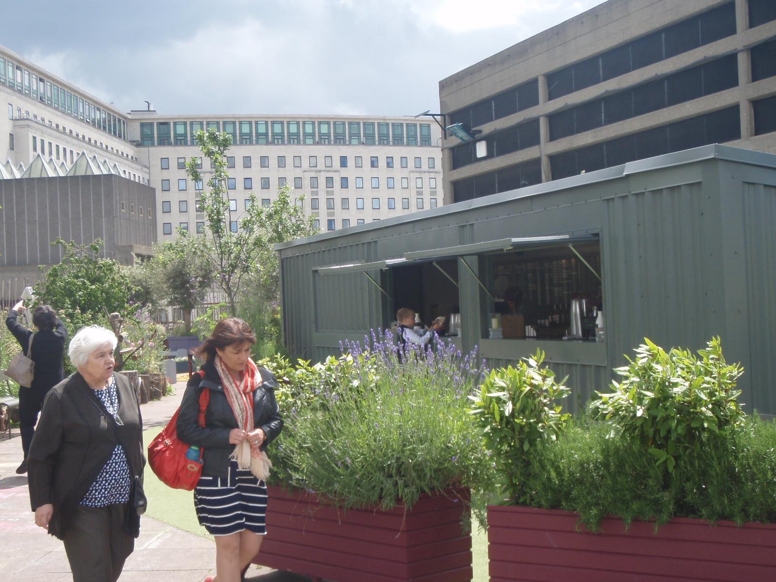 London: QE Hall Roof Garden | City Love